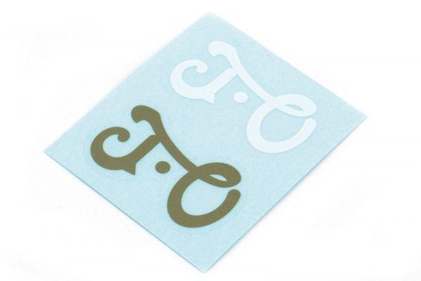 J.O Logo Sticker