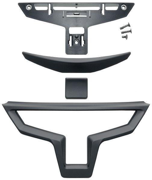 X-Spr.3 Kinnvent. matt schwarz