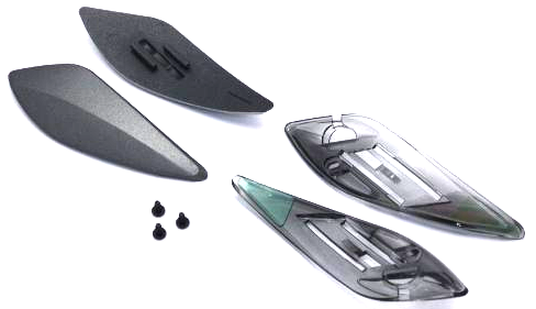 XR-1100 Stirnvent. mat.d.grey ASULAUF