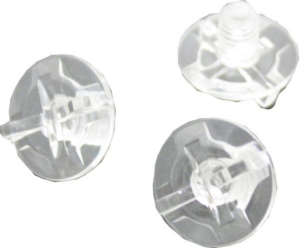 VFX-WR/W/V-Moto/VFX-DT Visorscrew clear (Disc.)
