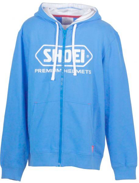 Zip Hoody blau